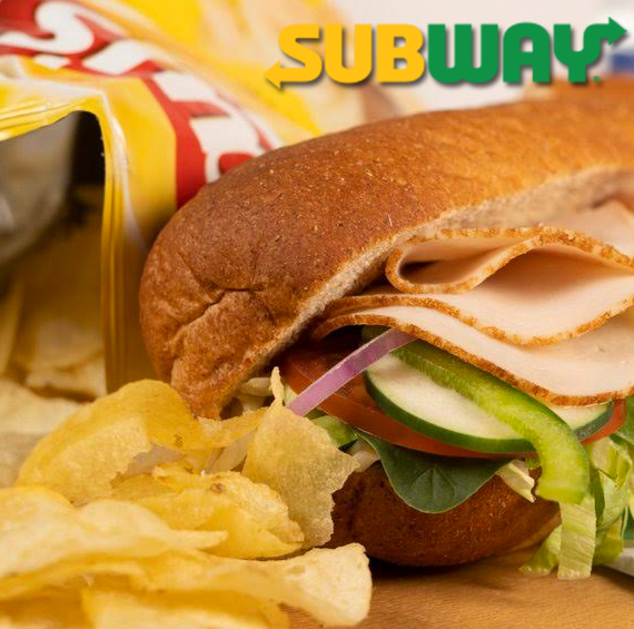 Free 6-inch Sandwich with Purchase of Large Drink. February 25th - February 28th Only.