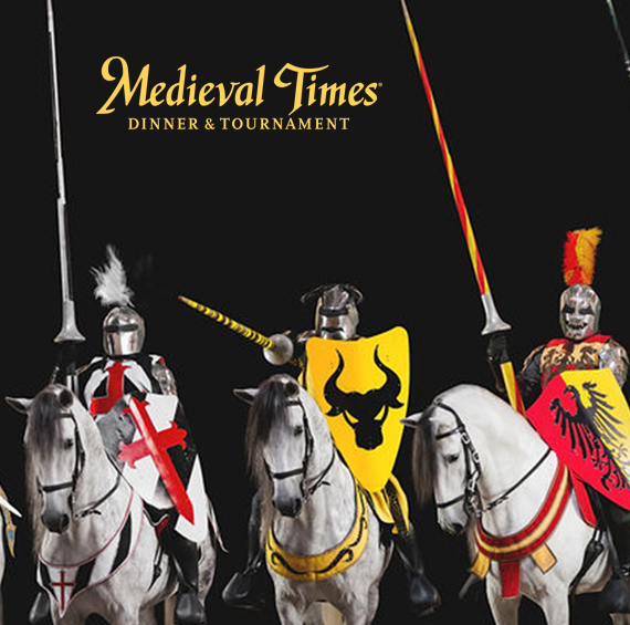Save $26 at Medieval Times Dinner & Tournament, in Buena Park