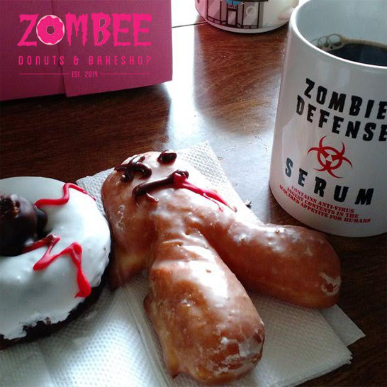Free Coffee, Tea or Milk with Purchase of Any Specialty Donut