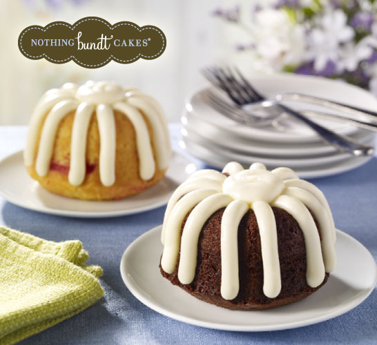 Free Single-Serving Bundtlet Cake. Valid January 27th - February 1st Only.