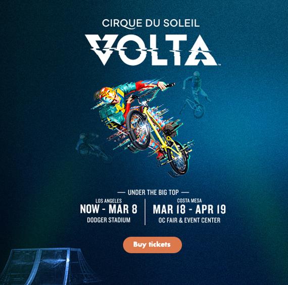 Save 20% on Tickets to Cirque du Soleil's VOLTA