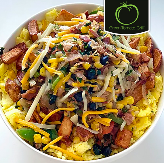 Your Choice - Free Breakfast Scramble with Purchase of a Second or Free Agave Lemonade with Any Purchase