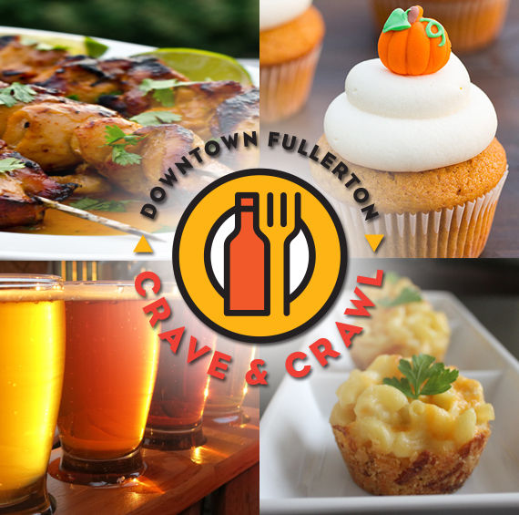 Free Admission + Free Food and Drinks at Downtown Fullerton Crave and Crawl